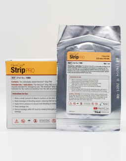 es un vendaje hemostático conveniente y fácil de usar capaz de controlar eficazmente el sangrado de heridas más pequeñas, como los sitios de acceso a diálisis y los sitios de catéter.